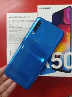 Samsung A50 biru 64GB