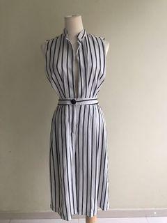 Stripes Jumpsuit [Preloved]