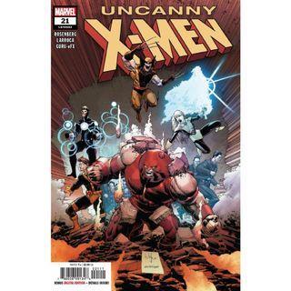 Uncanny X-Men (2018 5th Series) # 21