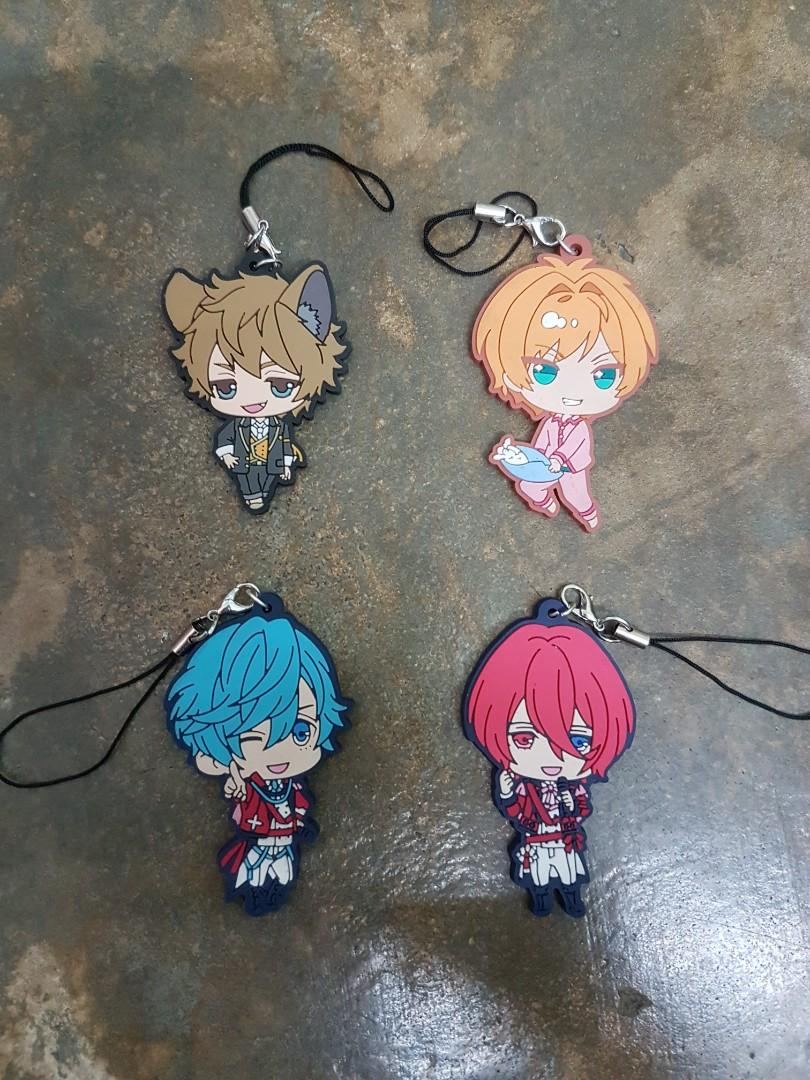 Various rubber strap / keychain   otome