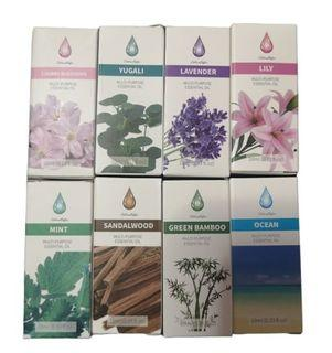 Water Soluble Natural Aroma Essential Oil Aromatherapy 10ML for Air Humidifier Diffuser Oil Burner