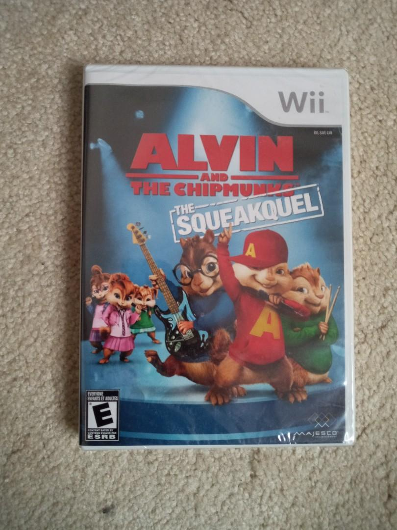 Wii Game - Alvin and the chipmunks: the squeakquel