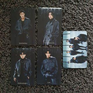 [wtt/wts] monsta x japan wanted photocards