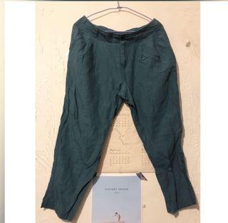 日本品牌棉麻老爺褲