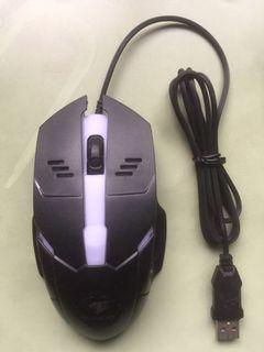 不使用和滾輪已故障的滑鼠