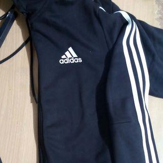Adidas 3 Stripes Fullzip Hoodie French Terry