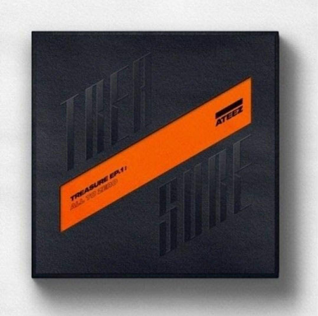 ATEEZ First Album - Treasure EP.1 : All to Zero第一張迷你專輯 迷你一輯