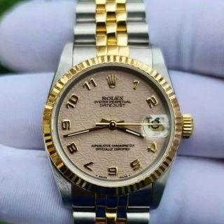 Authentic Rolex Junior Oyster Perpetual Datejust 31mm Ref. 68273 today