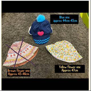Baby toddler Hats 女寶 帽子 兒童