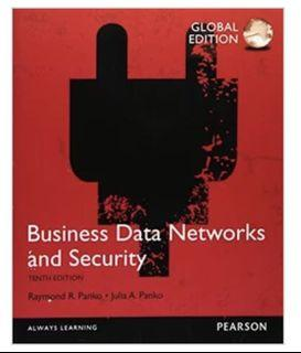Business Data Networks & Security, 10/e #開學季 資管用書