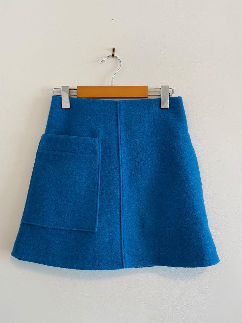 COS Wool Skirt
