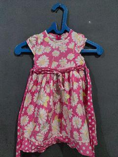 Dress pink anak