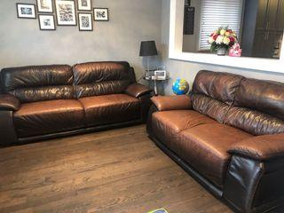 Genuine Leather Couches