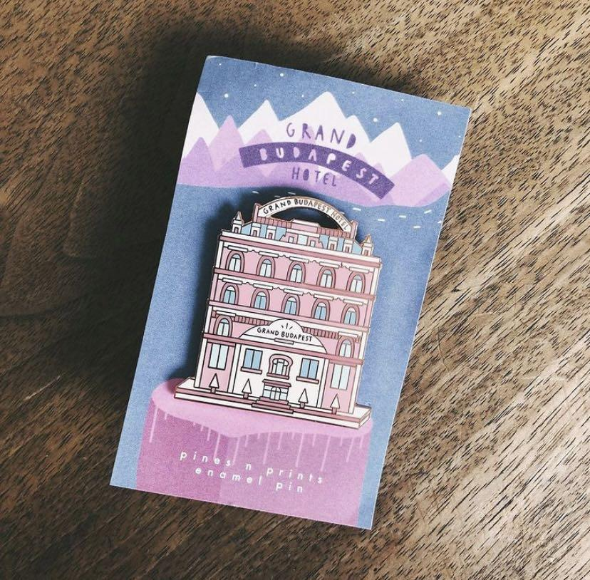 Grand Budapest Hotel Pin