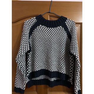 JEANASIS短版造型針織毛衣#換季