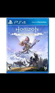 Kaset PS 4 Horizon