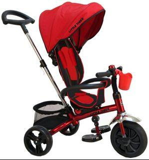 Little Tiger 3 in 1 Tricycle Multi-Function