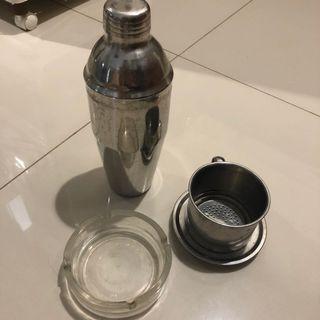 vietnam dripper n shaker free asbak kaca