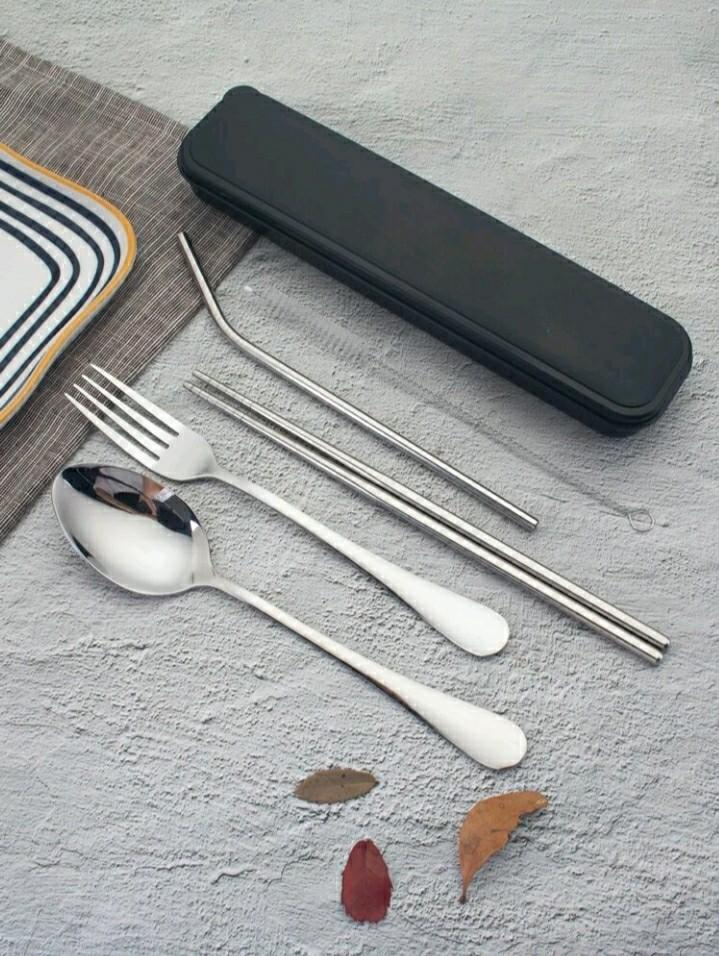 5 pcs stainless steel cutlery set