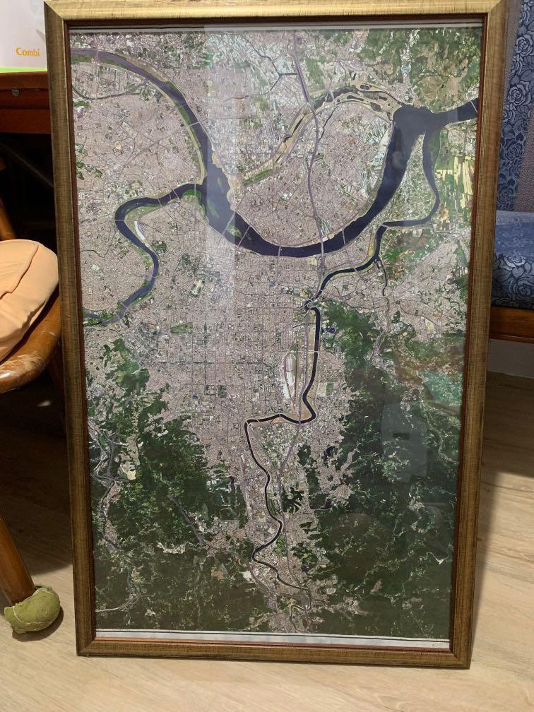 臺北市衛星空照圖