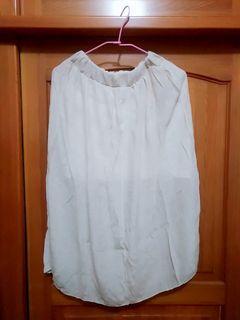 棉麻長裙 襯裙