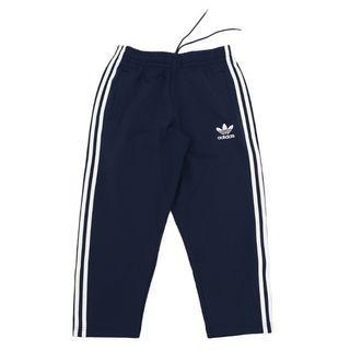 adidas Original 7/8 pants 運動褲 三線褲 上寬下窄 小鬼著用 八分褲 深藍