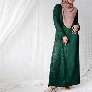 Ayana Brukat Dress by Vanilla Hijab