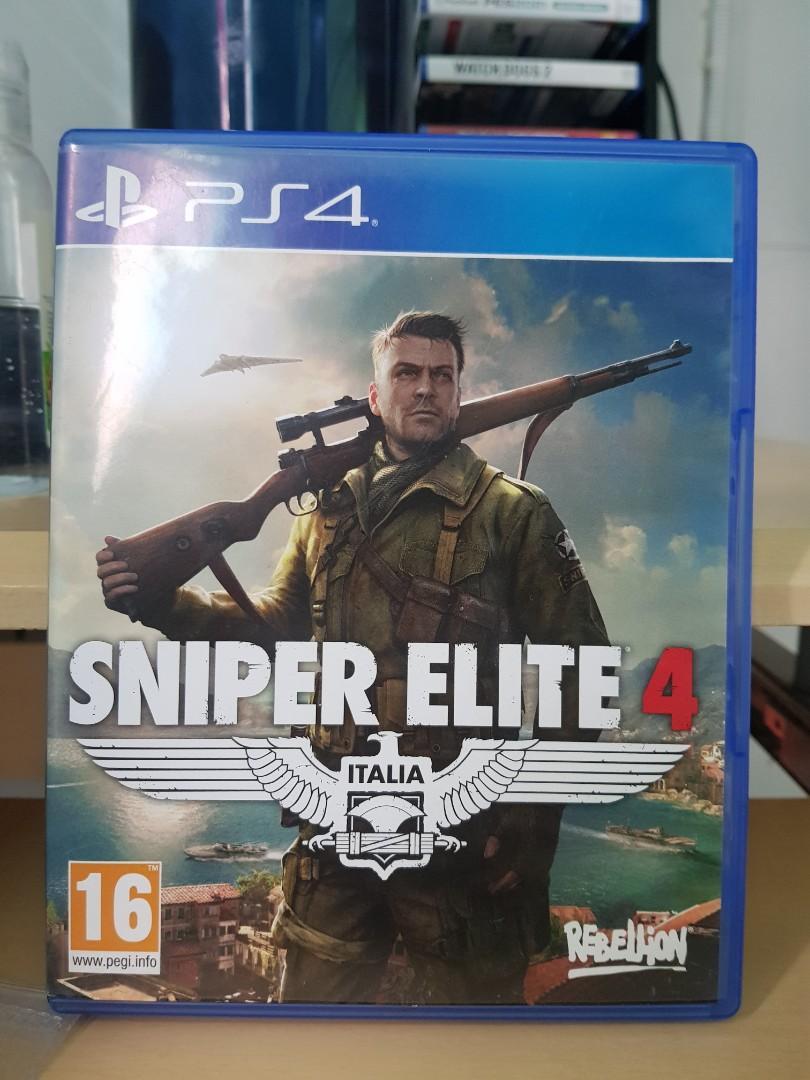 BD Ps4 Sniper Elite 4