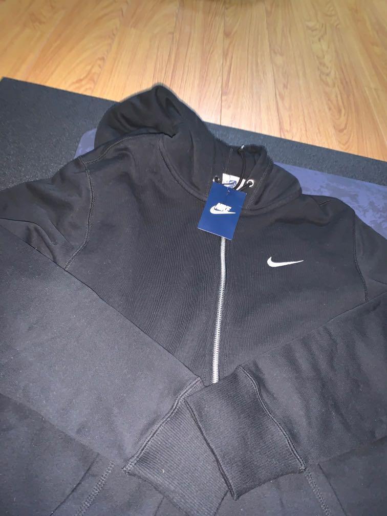 BNWT Black Nike Zip Up