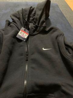 BNWT Black Nike Zip Up Hoodie