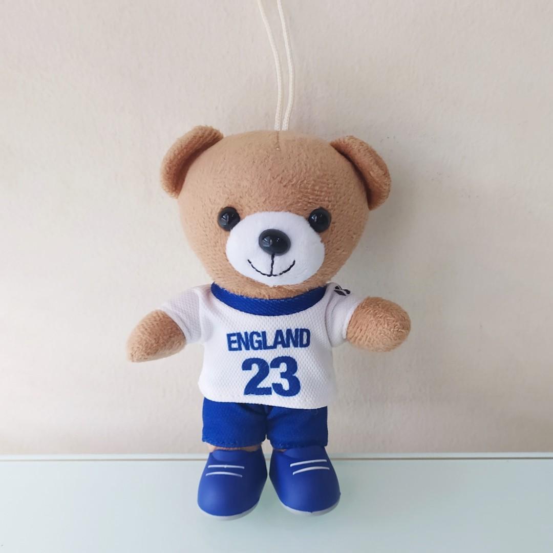 Boneka Mainan Anak Teddy Bear Beruang Bola  Inggris England