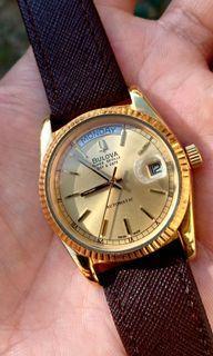 Bulova Super Seville Swiss Automatic Watch Daydate Datejust