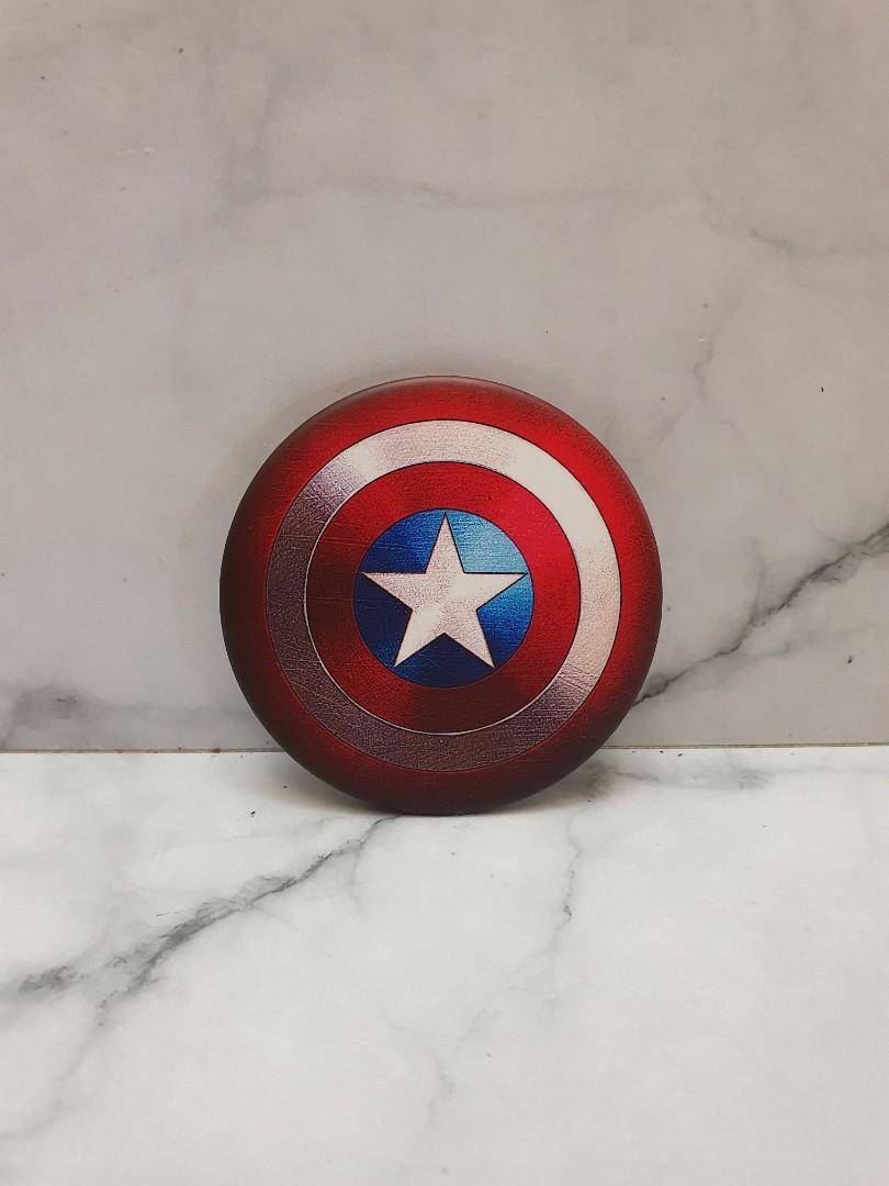 Fridge Magnet Kulkas Import Marvel Avengers Captain America Shield
