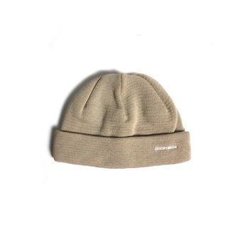 GOOPi x softcream Coolmax Ribbed Beanie -Khaki 短毛帽 針織 涼感 孤僻