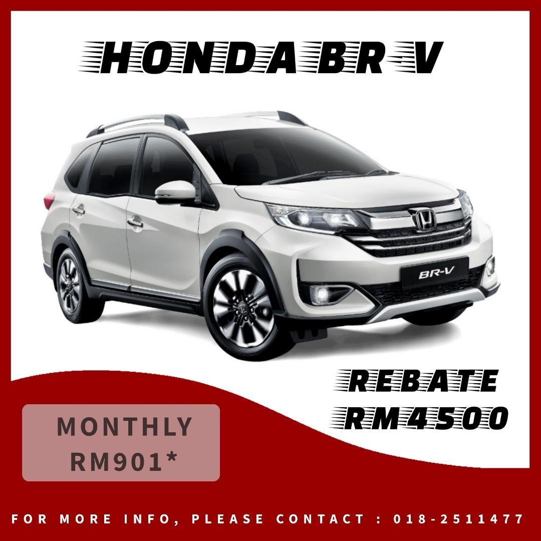 HONDA BR-V SPECIAL REBATE RM4500