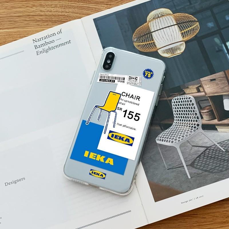 iPhone 6/7/8/XS/XR/SE/11/12手機殼IKEA