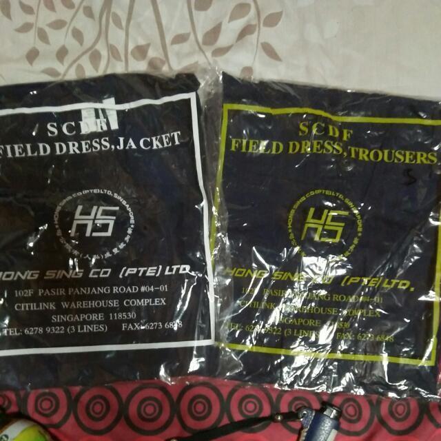 LF: SCDF no.4 uniform (shirt & pants)