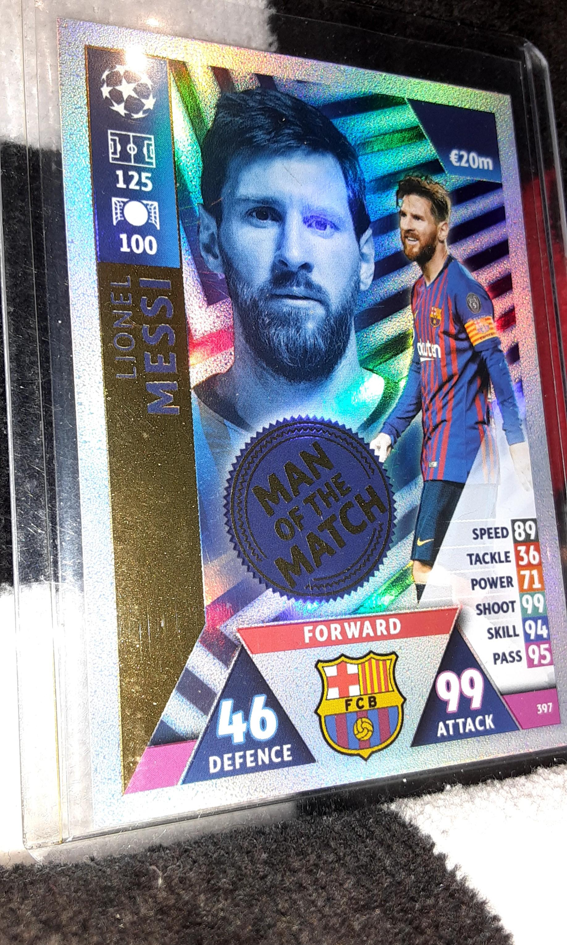 Lionel MESSI the GOAT Sale Card Collection