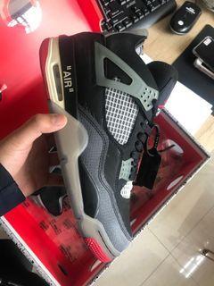 Off white , ow , Aj4, Air Jordan 4 , Jordan 4