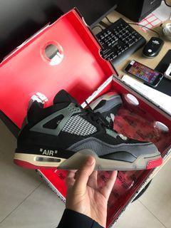 OW Aj4, Air Jordan 4 , Jordan 4 , off white