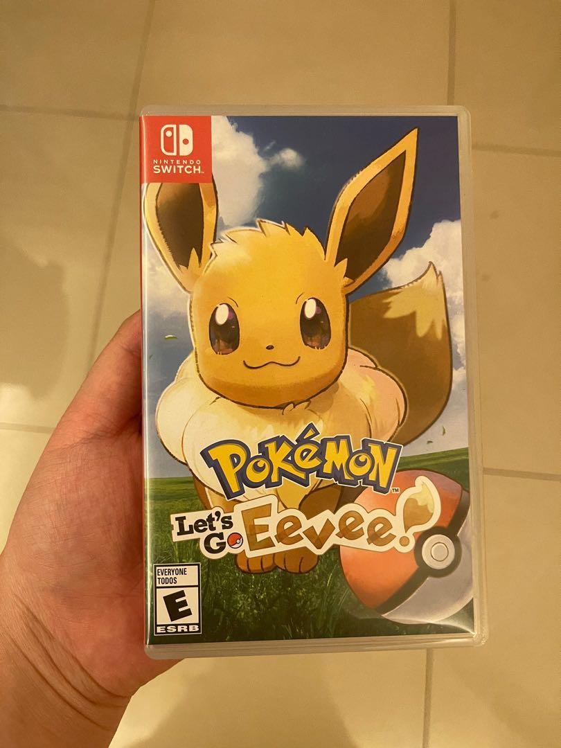 Pokemon eevee nintendo switch game