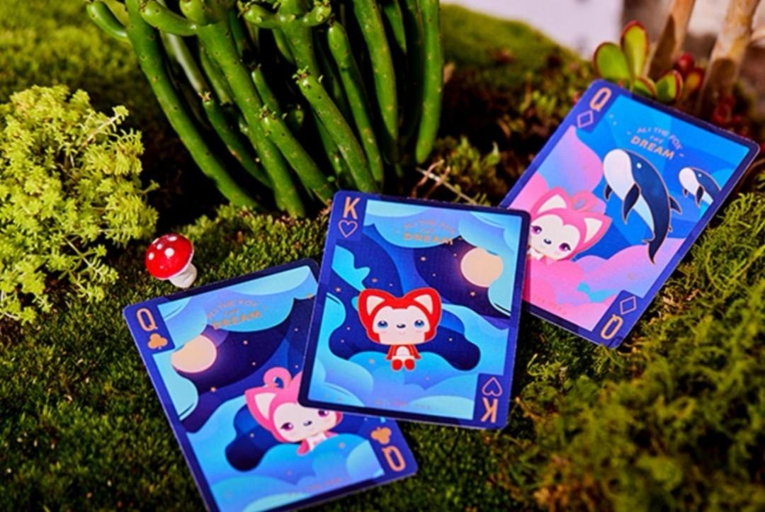 Poker Cards - Polar Expedition, Solokid Ali the Fox Playing Cards, official  collaboration with Dream Castle. Limited edition of 1000, numbered only on  boxset, not on tuck box. Brand new, sealed with