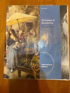 Principles of economics international edition 經濟原文書