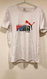 PUMA白色T恤 上衣 L號 二手