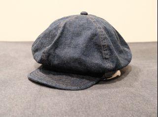 Radiall Denim Casquette 報童帽 貝蕾帽 日本 vintage 古著 單寧 日系