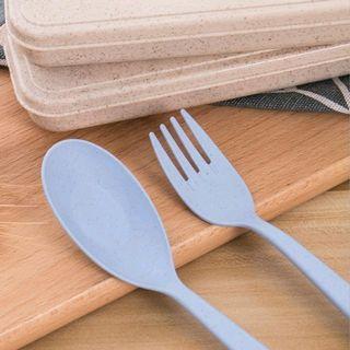 Set sendok garpu