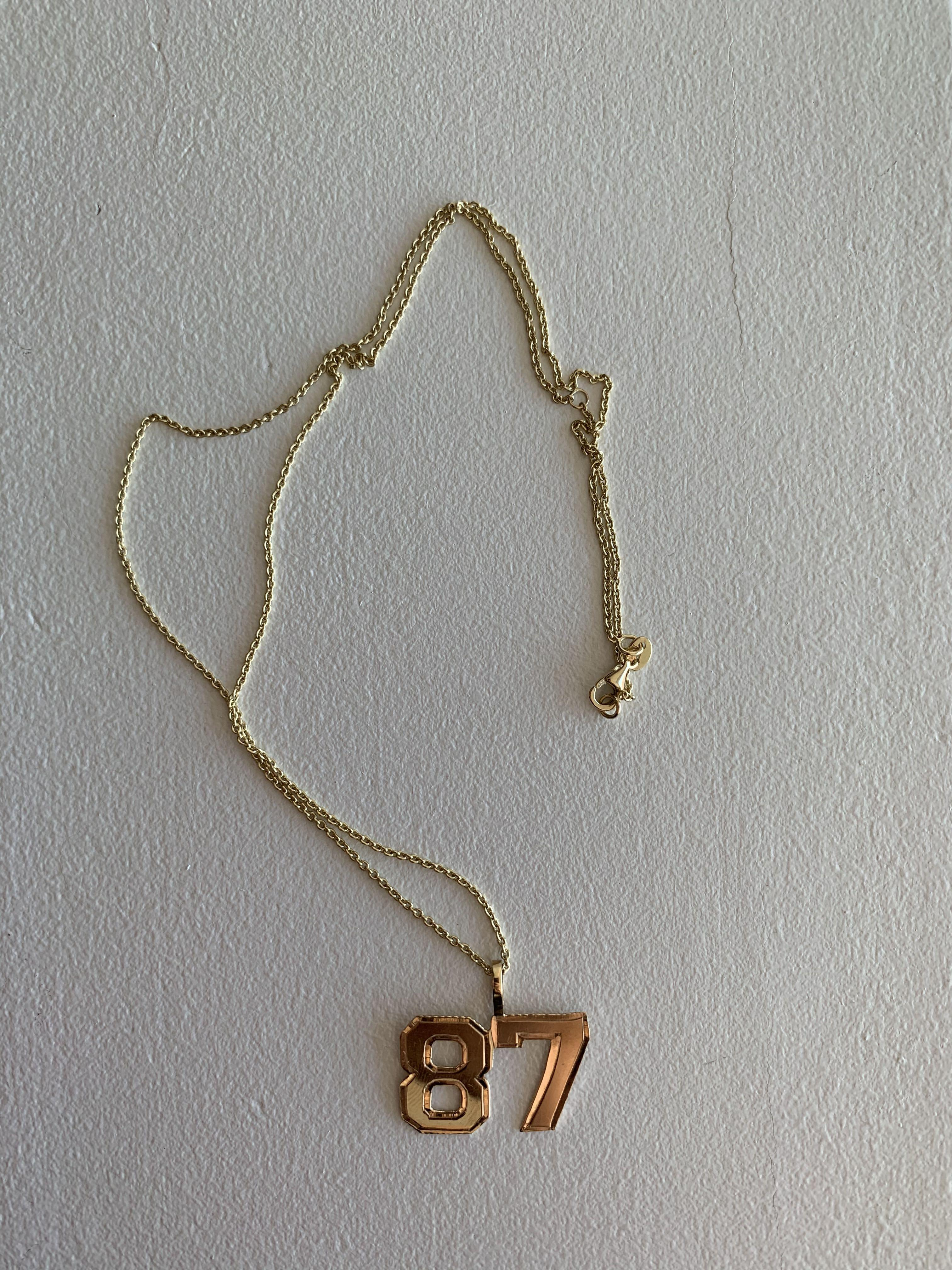 The M Jewelers necklace 87