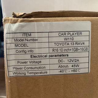Toyota Rav 4 Original Stereo