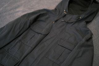 Uniqlo 登山連帽外套 深藍色 NAVY 工裝 多口袋 登山 山系