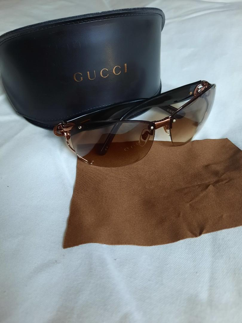 Y2K GUCCI Sunglasses with Case